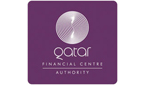 logo for the qatar financial centre authority